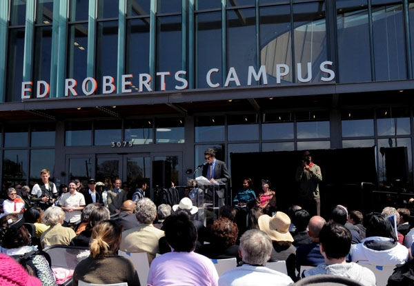Photo: The Ed Roberts Campus opened in South Berkeley as a disabilities service center.