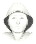 Photo: Drawing of a suspect in a sexual battery that occurred on the east side of VLSB.