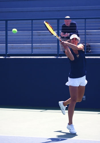 Photo: Jana Juricova is the top-ranked singles player in the nation and is a part of the top-ranked doubles team with Mari Andersson.