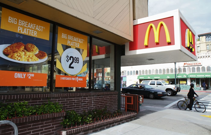 Photo: McDonald's on Shattuck Avenue and University Avenue participated in National Hiring Day.
