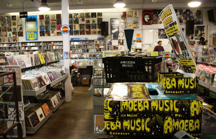 Photo: Amoeba Music is renowned for its record collections.