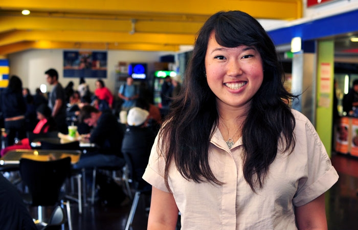 Photo: Hedy Chen was approved by the ASUC Senate to serve as the replacement to Store Operations Board chair Yishi Zuo.