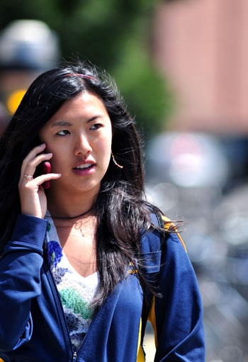 Photo: Studies indicate a possible connection between cellphone usage and brain tumors.