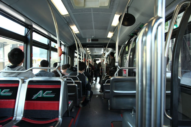 Photo: AC Transit is considering increasing bus fares to cope with its financial problems. The transit system is holding a public hearing on Wednesday to discuss this and other possible solutions.