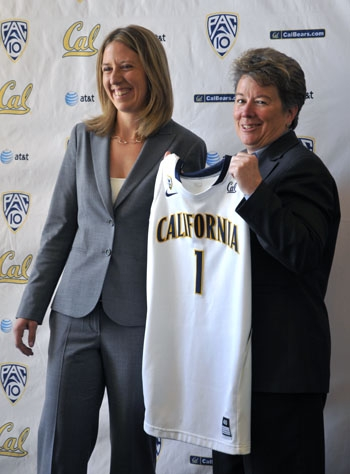 Photo: Lindsay Gottlieb was named head coach of the Cal women's basketball team by Athletic Director Sandy Barbour. Gottlieb, a former assistant at Cal, is returning to Berkeley after a stint as head coach of UCSB.