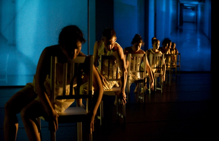 Photo: Presented during two consecutive weekends at Zellerbach Playhouse, Berkeley Dance Project's 'Stream' combines the material body and the  incorporeal mind, with an emphasis on use of technology.