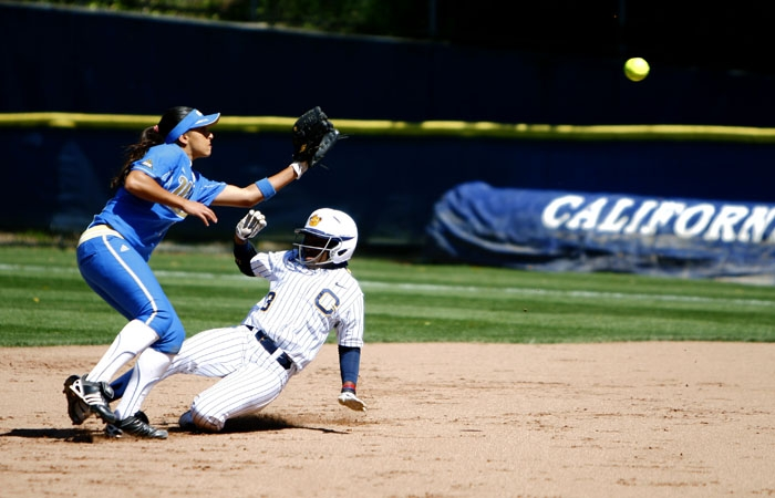 Photo: Outfielder Jamia Reid hit a walk-off single with two outs and the bases loaded.