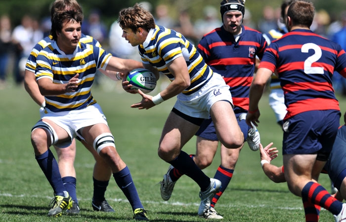 Photo: The Cal rugby team advanced to the national semifinals against Utah with a 43-10 victory over the Life University Running Eagles on Saturday in Moraga, Calif.