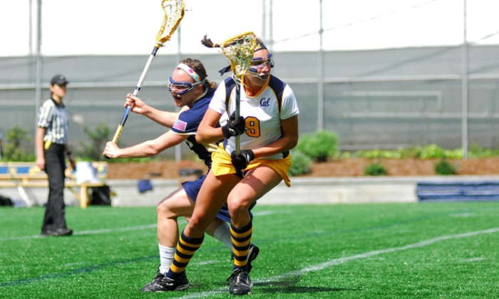 Photo: Vail Horn was Cal's second-leading scorer in 2011 with 33 goals. The junior midfielder's 47 points ranked third on the team.