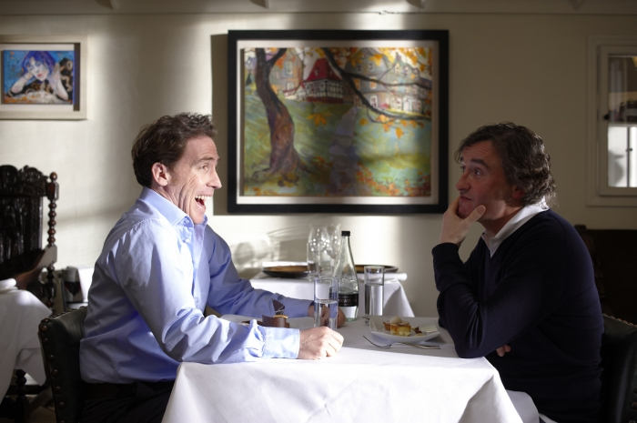 Photo: Comedians Rob Brydon and Steve Coogan indulge in their humor in Michael Winterbottom's
