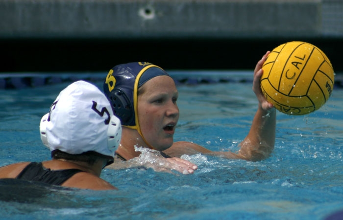 Photo: Sophomore Breda Vosters scored her first goal of the NCAA tournament on Sunday against Stanford.