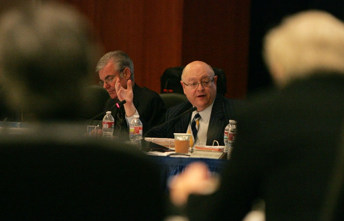 Photo: The UC Board of Regents discussed several solutions to its budget woes at its meeting.